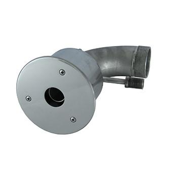 Форсунка гидромассажная 1х29, 45 м3/ч, донная из нержавеющей стали для бассейна