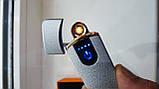 Електроімпульсна електронна запальничка запальничка спіраль USB, фото 7