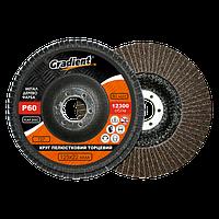 Круг КЛТ Gradient Т27, 125 x 22 мм,  зерно Р60
