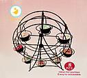 Подставка стойка для кексов Колесо обозрения, фото 7