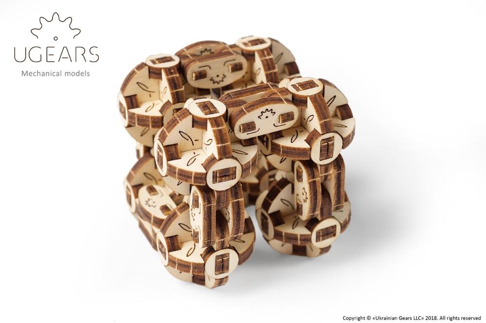 Механічна модель «Сферокуб» ,UGEARS