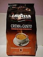 Кофе Lavazza Crema e Gusto tradizione italiana (1000 г) в зернах