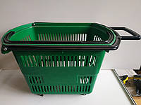 Б/у Пластиковые корзинки для магазина, супермаркета, корзинки покупательские