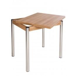 Стол KAJA EXT H18 600/1200*800 chrome