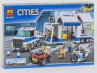 Конструктор Bela Cities 10657 Мобильный Командный Центр, 398 дет., копия LEGO City, фото 1