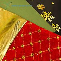 Новогодний носок, новогодний сапог, сапожок для подарков Деда Мороза H-33, фото 2