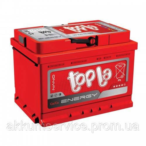 Аккумулятор автомобильный Topla Energy 54AH R+ 480A (низкий)