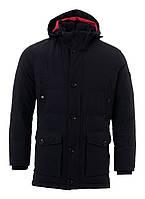 Удлиненная мужская куртка с капюшоном от Pierre Cardin
