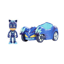 Игровой набор - PJ Masks Vehicle. Catboy and Cat-car. (Герои в масках. Кэтбой и Кэт-мобиль)