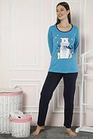 Женская пижама Турецкий трикотаж 21845