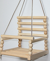 Детская качеля деревянная №4 K-0161 БУК