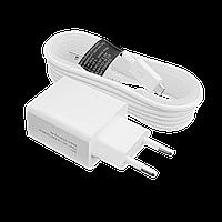 Зарядное устройство LogicPower АС-012 USB 5V 2,4A + кабель USB - Micro USB 1,5м (Белый) /ОЕМ