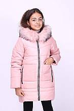 Дитяча зимова куртка на дівчинку куртка «Мішель»