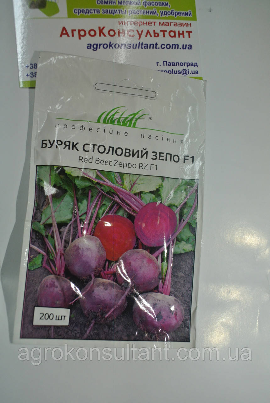 ЗЕПО F1, 200 семян — ранняя свекла