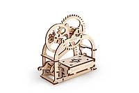 Механічна модель «Механічна шкатулка»  ,UGEARS, фото 1