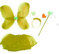 Карнавальный костюм  Набор бабочки  (желтый)