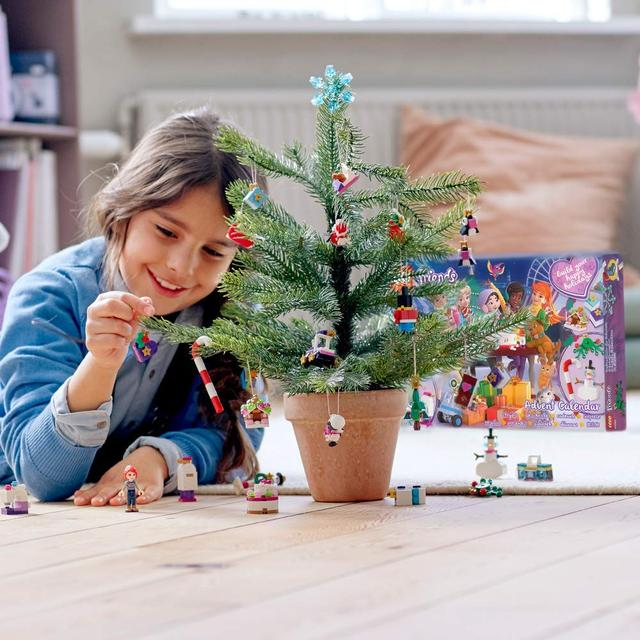 Новогодний адвент календарь лего лол барби  фроузен