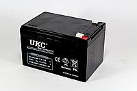 UKC 12V 12A Аккумулятор 12 Вольт 12 Ампер GEL BATTERY 12V 12A
