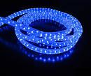 Новогодняя гирлянда синего свечения Xmas Rope Light Дюралайт Шланг LED (10 метров ), фото 3