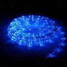 Новогодняя гирлянда синего свечения Xmas Rope Light Дюралайт Шланг LED (10 метров ), фото 2