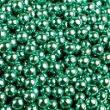 Кондитерская посыпка ЗЕЛЕНАЯ блеск 5 мм 20 грамм