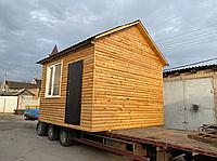 Деревянный утеплённый каркасно-щитовой готовый дачный дом с доставкой. Строительство, проектирование, кредит