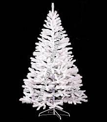 Ель литая белая 1.5 метра ✓ Ёлка искуственная Премиум белая ✓ Ели новогодние ПВХ ✓ Ялинка штучна