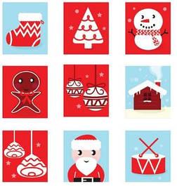Різдвяні адвент календарі (Новогодние адвент календари)