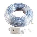 Новогодняя гирлянда белого свечения Xmas Rope Light Дюралайт Шланг LED (10 метров ), фото 3