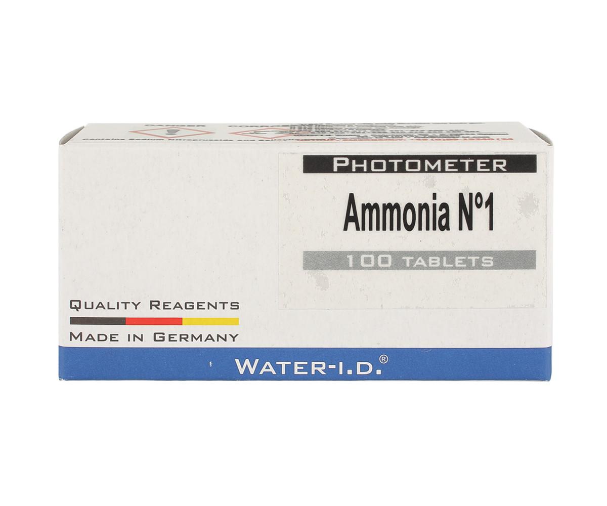Таблетки Ammonia 1 (50 таблеток/упаковка) для тестера PrimerLab для бассейнов