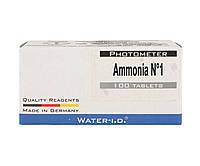 Таблетки Ammonia 1 (50 таблеток/упаковка) для тестера PrimerLab для бассейнов, фото 1
