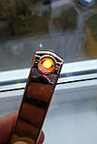 Зажигалка электроимпульсная GIGER usb, фото 7