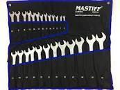 Набор рожковых ключей Мастиф 25 единица