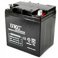 UKC 12V 24A Аккумулятор 12 Вольт 24 Ампера GEL BATTERY 12V 24A