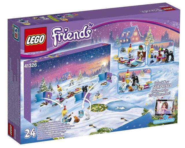 LEGO 41326 Friends - Advent Calendar 2017 Новогодний календарь Різдвяний календар