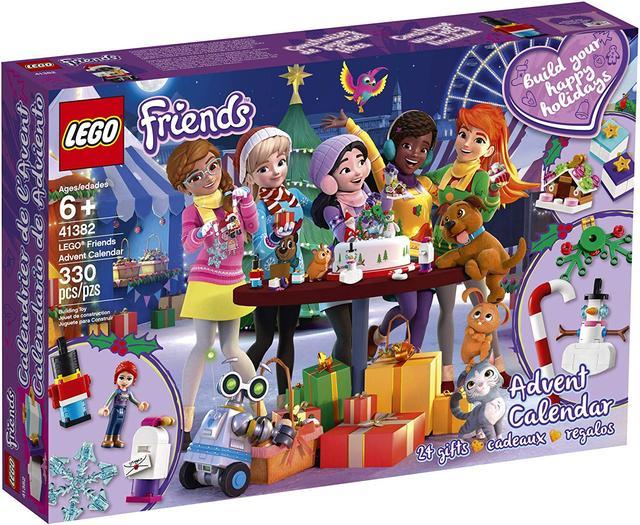 Новорічний календар LEGO Friends (Новогодний календарь Лего Френдс 41382, адвент календарь 330 дет.)