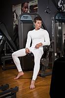 Термобелье мужское бесшовное зональное Haster ProClima XS Белый