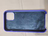 Накладка Silicon Case Original для iPhone 11 Pro 2019 (синій), фото 2