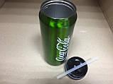Термос Coca-Cola с клапаном и трубочкой 500 мл, фото 4