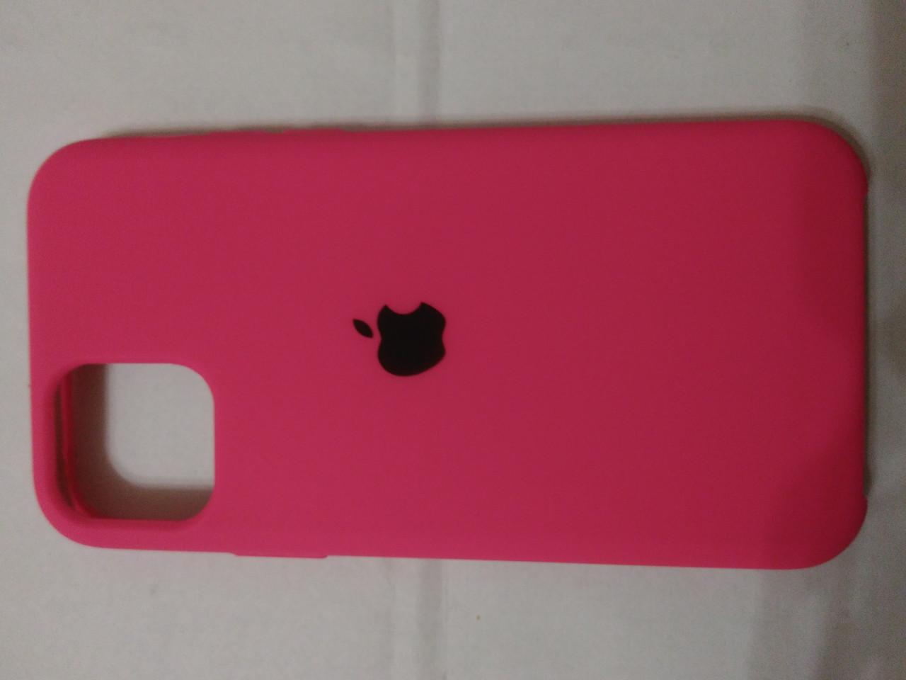 Накладка   Silicon Case Original  для  iPhone 11 Pro 2019  (красный)