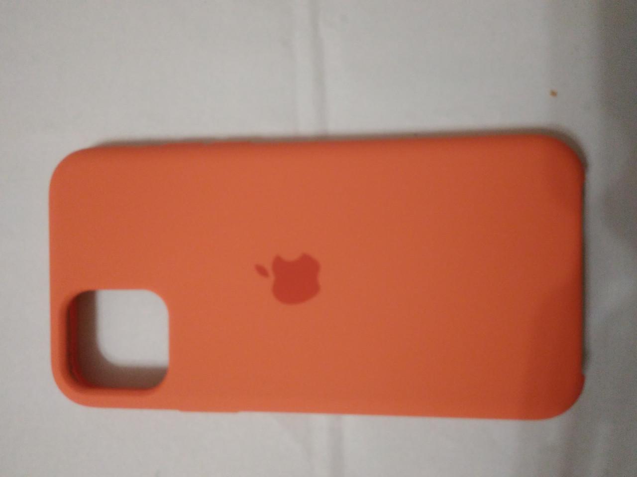 Накладка   Silicon Case Original  для  iPhone 11 Pro 2019  (оранжевый)