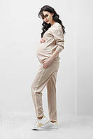 Спортивні штани з лампасами для вагітних 1837 1048