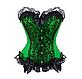 Корсет зеленый, фото 5