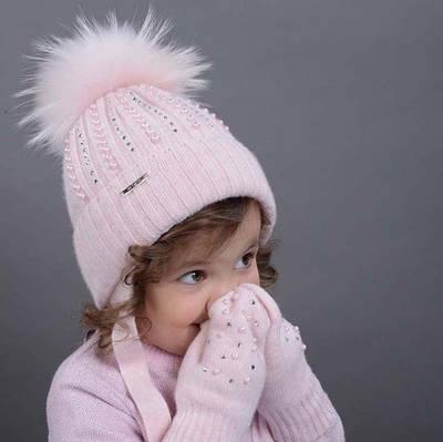 Зимние шапки + комплекты (шапка и хомут)