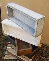 Лоток-коробочка, підставка для столових приборів з дерева