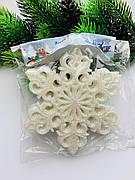 Снежинки для декора(10 шт)
