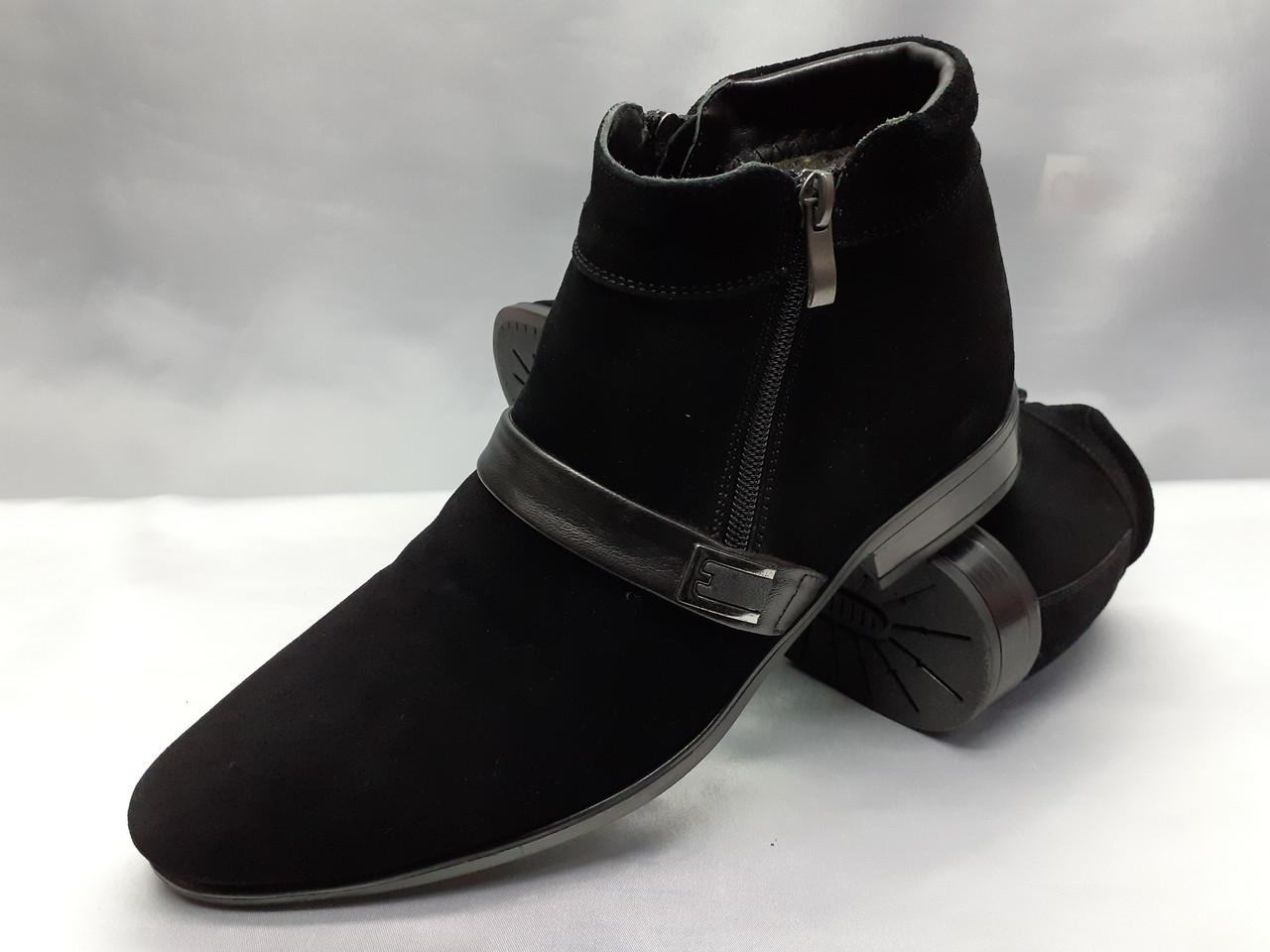 Класичні замшеві зимові черевики Fashion РОЗПРОДАЖ!