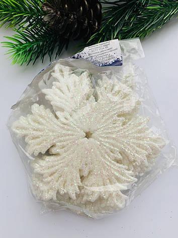 Снежинки для новогоднего декора(10 шт), фото 2