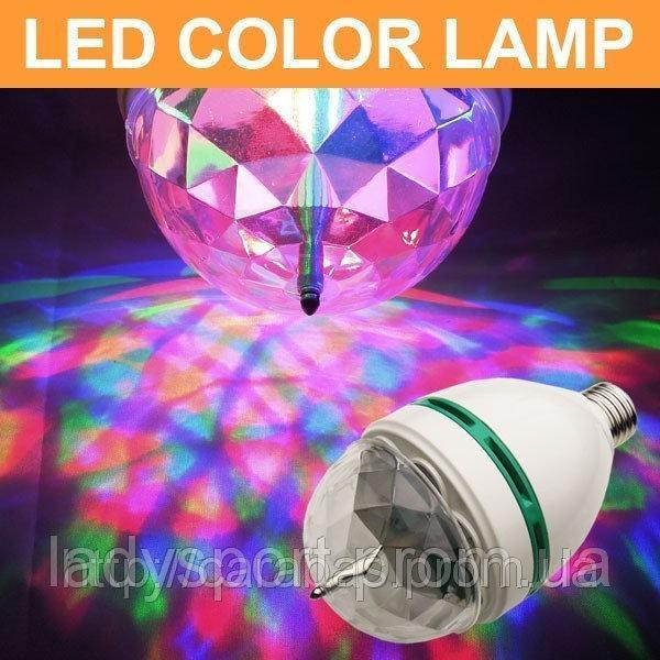 Диско лампа,светомузыка, LED Mini Party Light Lamp,лампа для вечеринок, фото 1
