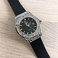 Часы наручные Hublot Big Bang 2Diamonds Small 882888 Silver-Black